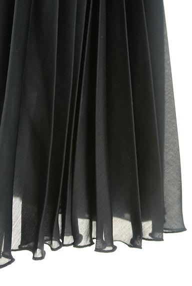 UNITED ARROWS(ユナイテッドアローズ)の古着「プリーツシアーロングスカート(ロングスカート・マキシスカート)」大画像5へ