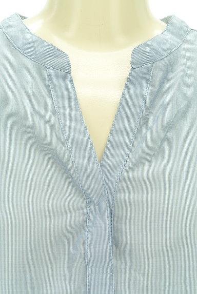 UNITED ARROWS(ユナイテッドアローズ)の古着「スキッパーカラーカットソー(カットソー・プルオーバー)」大画像4へ