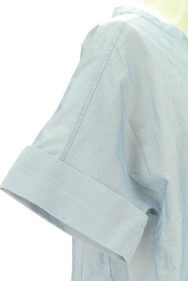 UNITED ARROWS(ユナイテッドアローズ)の古着「スキッパーカラーカットソー(カットソー・プルオーバー)」大画像5へ
