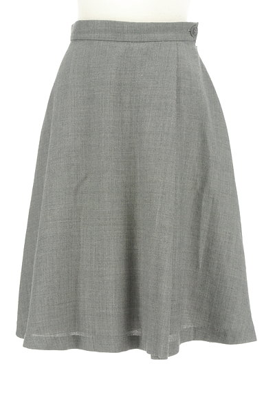 NATURAL BEAUTY BASIC(ナチュラルビューティベーシック)の古着「サイドタック膝下丈スカート(スカート)」大画像1へ