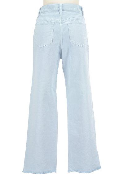 UNITED ARROWS(ユナイテッドアローズ)の古着「裾フリンジストレートデニムパンツ(デニムパンツ)」大画像2へ
