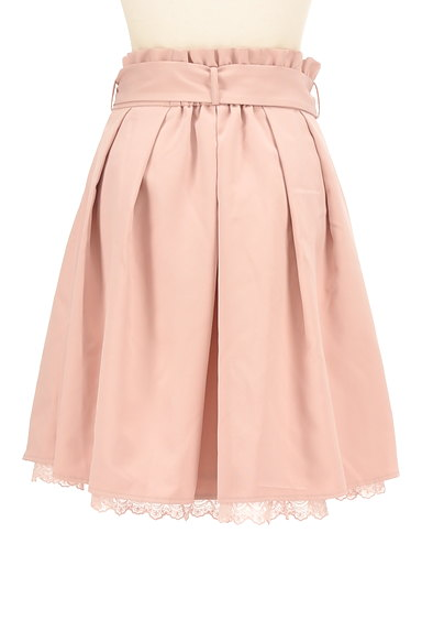 LODISPOTTO(ロディスポット)の古着「パール付きウエストリボン膝丈スカート(スカート)」大画像2へ