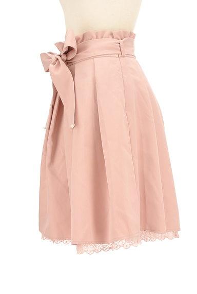 LODISPOTTO(ロディスポット)の古着「パール付きウエストリボン膝丈スカート(スカート)」大画像3へ