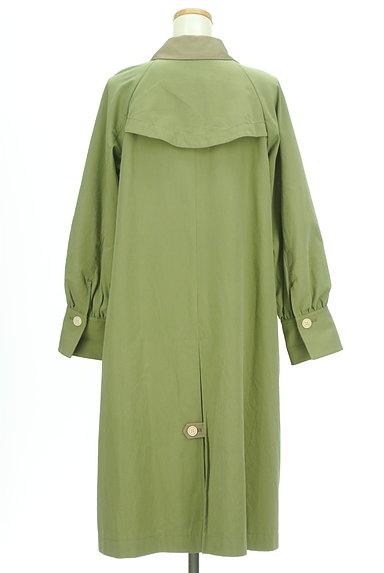 POU DOU DOU(プードゥドゥ)の古着「バイカラー襟ロングラグランコート(コート)」大画像2へ
