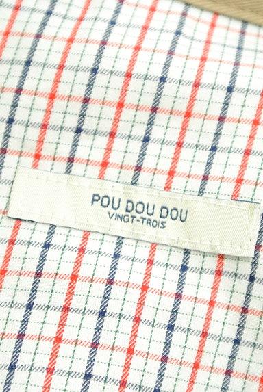 POU DOU DOU(プードゥドゥ)の古着「バイカラー襟ロングラグランコート(コート)」大画像6へ