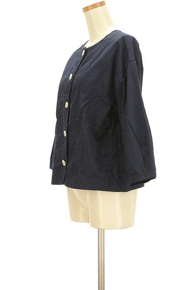 POU DOU DOU(プードゥドゥ)の古着「ステッチコットンブルゾン(ブルゾン・スタジャン)」大画像3へ