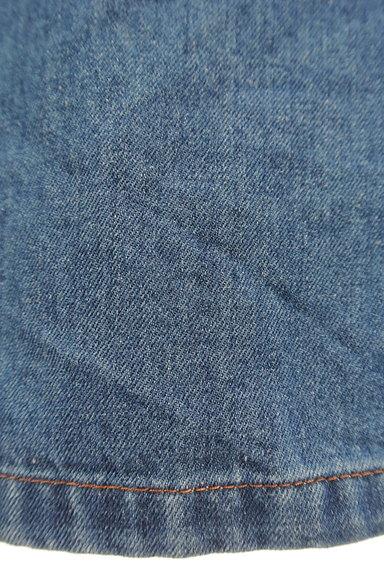 POU DOU DOU(プードゥドゥ)の古着「ミモレ丈ワイドパンツ(デニムパンツ)」大画像5へ