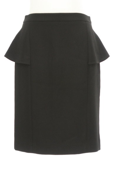 Pinky&Dianne(ピンキー&ダイアン)の古着「ペプラム膝丈タイトスカート(スカート)」大画像1へ