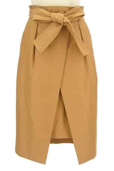 Pinky&Dianne(ピンキー&ダイアン)の古着「フロントラップタイトスカート(スカート)」大画像1へ