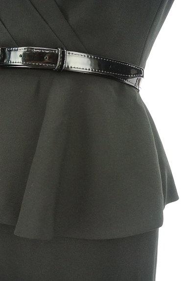 Pinky&Dianne(ピンキー&ダイアン)の古着「ベルト付きペプラム膝丈タイトワンピ(ワンピース・チュニック)」大画像5へ