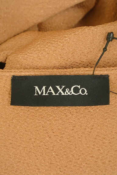 MAX&Co.(マックス&コー)の古着「フリルオープンショルダーワンピ(ワンピース・チュニック)」大画像6へ