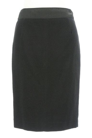 Pinky&Dianne(ピンキー&ダイアン)の古着「ウエストサテン切替ミディ丈スカート(スカート)」大画像1へ