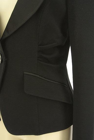 Pinky&Dianne(ピンキー&ダイアン)の古着「艶襟シェイプテーラードジャケット(ジャケット)」大画像4へ