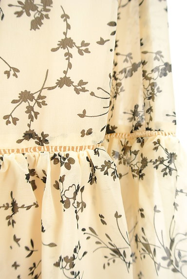 studio CLIP(スタディオクリップ)の古着「花柄切替フリルロングシフォンスカート(ロングスカート・マキシスカート)」大画像5へ
