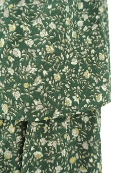 SM2(サマンサモスモス)の古着「ミモレ丈ボリュームティアードスカート(ロングスカート・マキシスカート)」大画像5へ