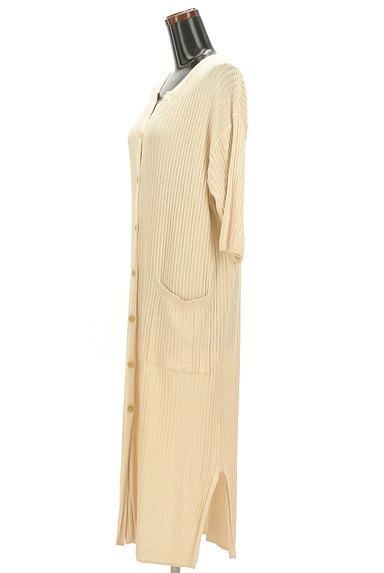 SM2(サマンサモスモス)の古着「ナチュラルなロングカーディガン(カーディガン・ボレロ)」大画像3へ