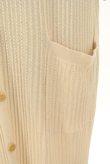 SM2(サマンサモスモス)の古着「ナチュラルなロングカーディガン(カーディガン・ボレロ)」大画像5へ