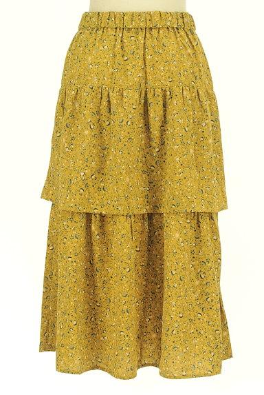 SM2(サマンサモスモス)の古着「揺れる小花柄ティアードスカート(ロングスカート・マキシスカート)」大画像2へ