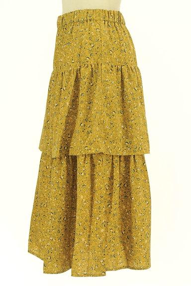 SM2(サマンサモスモス)の古着「揺れる小花柄ティアードスカート(ロングスカート・マキシスカート)」大画像3へ
