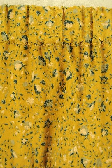 SM2(サマンサモスモス)の古着「揺れる小花柄ティアードスカート(ロングスカート・マキシスカート)」大画像4へ