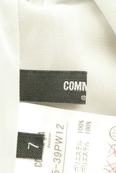 COMME CA(コムサ)の古着「ミモレ丈微光沢プリーツワイドパンツ(パンツ)」大画像6へ
