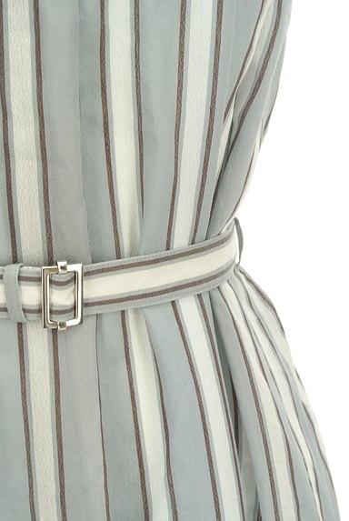COMME CA(コムサ)の古着「大人ストライプのロングワンピース(ワンピース・チュニック)」大画像5へ