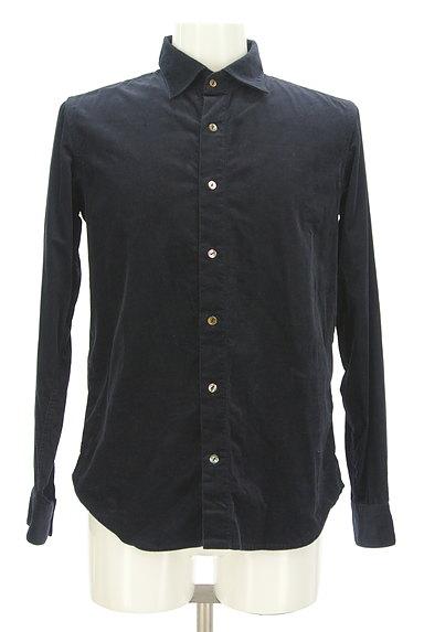 KATHARINE HAMNETT LONDON(キャサリンハムネットロンドン)の古着「コーデュロイカジュアルシャツ(カジュアルシャツ)」大画像1へ