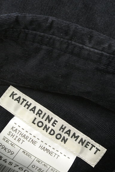 KATHARINE HAMNETT LONDON(キャサリンハムネットロンドン)の古着「コーデュロイカジュアルシャツ(カジュアルシャツ)」大画像6へ