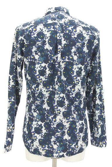KATHARINE HAMNETT LONDON(キャサリンハムネットロンドン)の古着「ぼかしプリントカジュアルシャツ(カジュアルシャツ)」大画像2へ