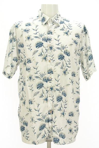 KATHARINE HAMNETT LONDON(キャサリンハムネットロンドン)の古着「アロハな花柄プリントシャツ(カジュアルシャツ)」大画像1へ