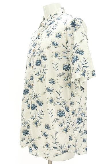 KATHARINE HAMNETT LONDON(キャサリンハムネットロンドン)の古着「アロハな花柄プリントシャツ(カジュアルシャツ)」大画像3へ