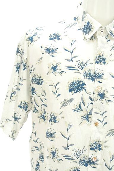 KATHARINE HAMNETT LONDON(キャサリンハムネットロンドン)の古着「アロハな花柄プリントシャツ(カジュアルシャツ)」大画像4へ