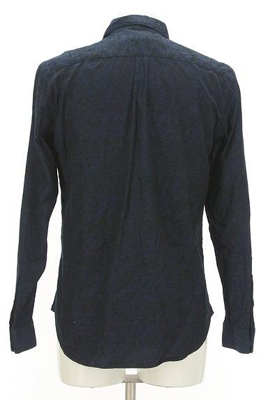 KATHARINE HAMNETT LONDON(キャサリンハムネットロンドン)の古着「ジャガードプリントシャツ(カジュアルシャツ)」大画像2へ