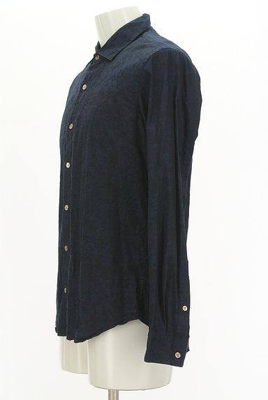 KATHARINE HAMNETT LONDON(キャサリンハムネットロンドン)の古着「ジャガードプリントシャツ(カジュアルシャツ)」大画像3へ