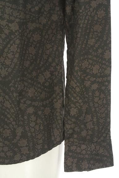KATHARINE HAMNETT LONDON(キャサリンハムネットロンドン)の古着「ペイズリー花柄カジュアルシャツ(カジュアルシャツ)」大画像5へ