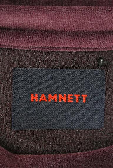 KATHARINE HAMNETT LONDON(キャサリンハムネットロンドン)の古着「重ね着風ベロアカットソー(カットソー・プルオーバー)」大画像6へ