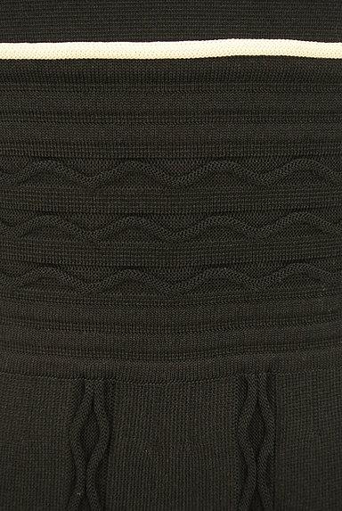 ef-de(エフデ)の古着「バイカラー膝下丈ニットワンピース(ワンピース・チュニック)」大画像5へ