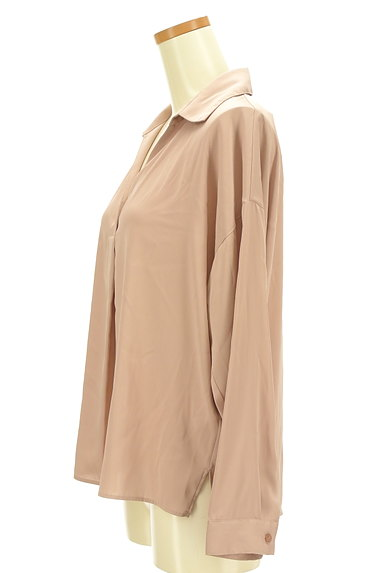 PROPORTION BODY DRESSING(プロポーションボディ ドレッシング)の古着「抜け襟とろみブラウス(ブラウス)」大画像3へ