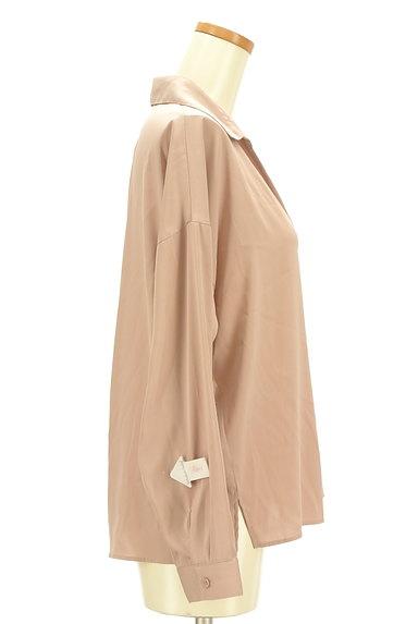 PROPORTION BODY DRESSING(プロポーションボディ ドレッシング)の古着「抜け襟とろみブラウス(ブラウス)」大画像4へ