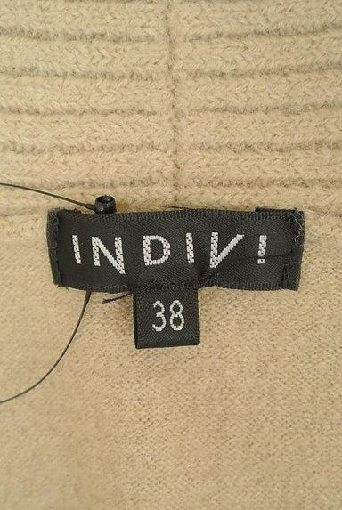 INDIVI(インディヴィ)の古着「(カーディガン・ボレロ)」大画像6へ