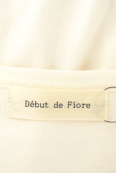 Debut de Fiore by LAISSE PASSE(デビュー・ド・フィオレ)の古着「きらきらビジューカーディガン(カーディガン・ボレロ)」大画像6へ