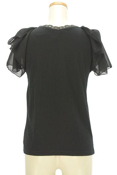 axes femme(アクシーズファム)の古着「シフォン袖レース切替カットソー(カットソー・プルオーバー)」大画像2へ