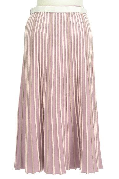axes femme(アクシーズファム)の古着「プリーツのようなリブニットスカート(ロングスカート・マキシスカート)」大画像2へ