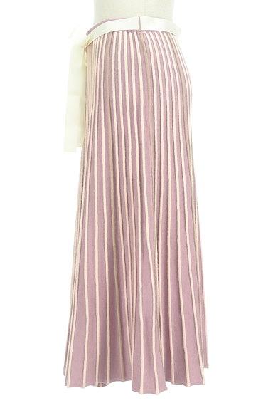 axes femme(アクシーズファム)の古着「プリーツのようなリブニットスカート(ロングスカート・マキシスカート)」大画像3へ