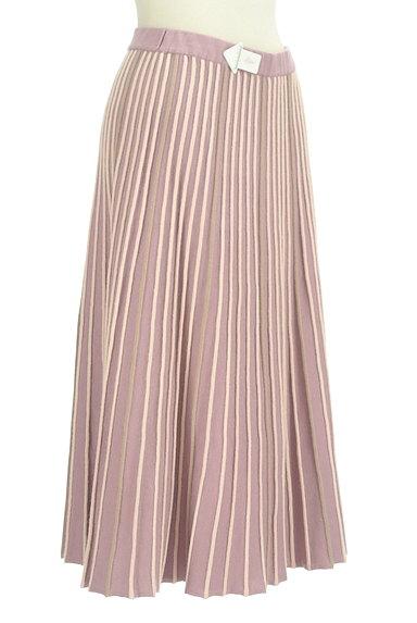 axes femme(アクシーズファム)の古着「プリーツのようなリブニットスカート(ロングスカート・マキシスカート)」大画像4へ