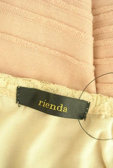 rienda(リエンダ)の古着「ブラウジングレース切替ミニワンピ(ワンピース・チュニック)」大画像6へ