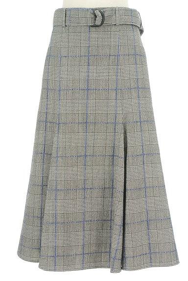 JOSEPH(ジョゼフ)の古着「ロングチェックフレアスカート(ロングスカート・マキシスカート)」大画像1へ