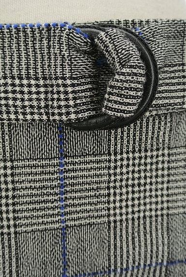 JOSEPH(ジョゼフ)の古着「ロングチェックフレアスカート(ロングスカート・マキシスカート)」大画像4へ