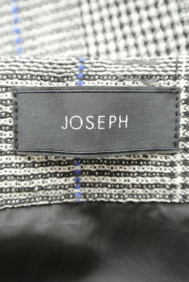JOSEPH(ジョゼフ)の古着「ロングチェックフレアスカート(ロングスカート・マキシスカート)」大画像6へ