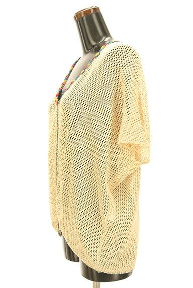 Jocomomola(ホコモモラ)の古着「カラフル刺繍のクロシェカーデ(カーディガン・ボレロ)」大画像3へ